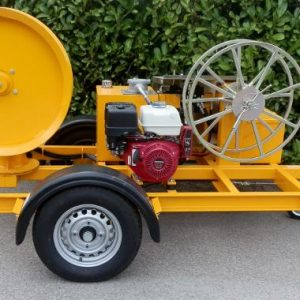 Cable Pull Assist Winch