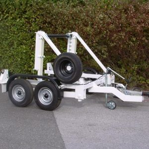 2700Kg Payload EEC Cable Drum Trailer