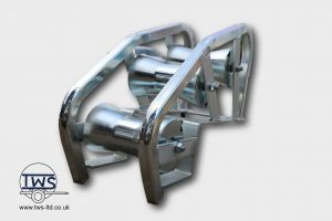 Manhole-entry-roller-footway-box-roller-cable-pulling-roller
